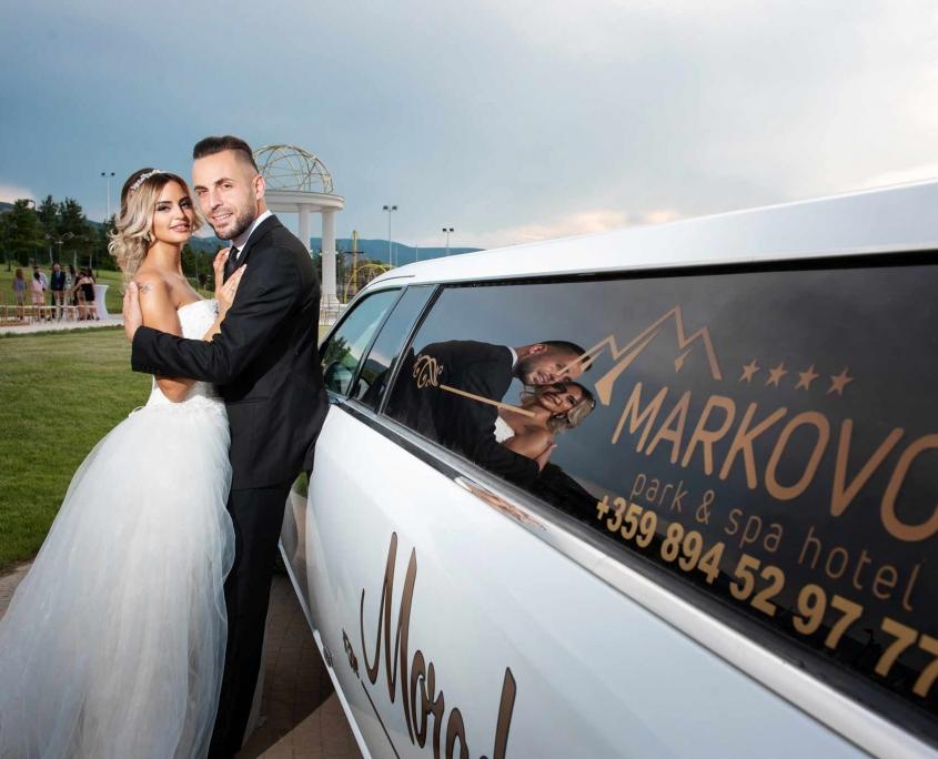 Наем на лимузина за сватба